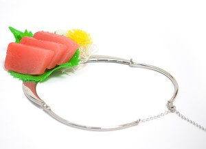 マグロの刺身 ネックレス 5200円