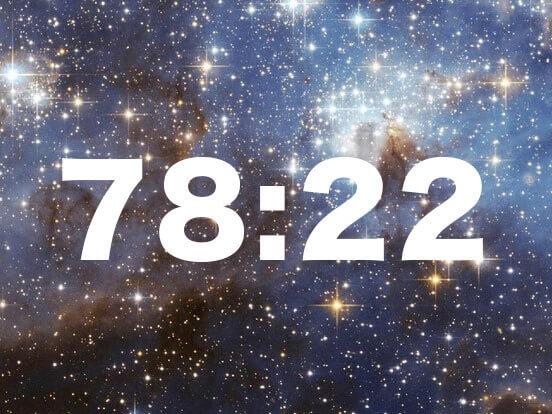共通点の多さに驚愕!この世は「78対22」という宇宙の法則で成り立っている